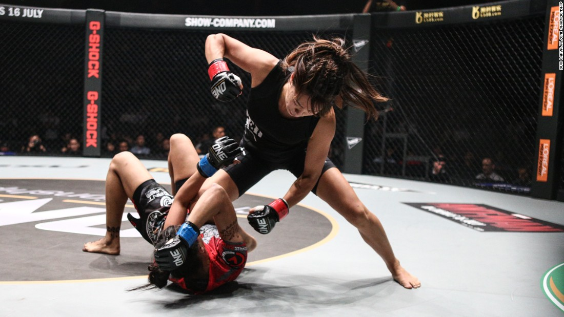 Angela Lee might only be 19 but she's one of the most promising stars fighting in the One Championship competition. The Hawaiian-born Singaporean fighter has won all four of her fights so far.