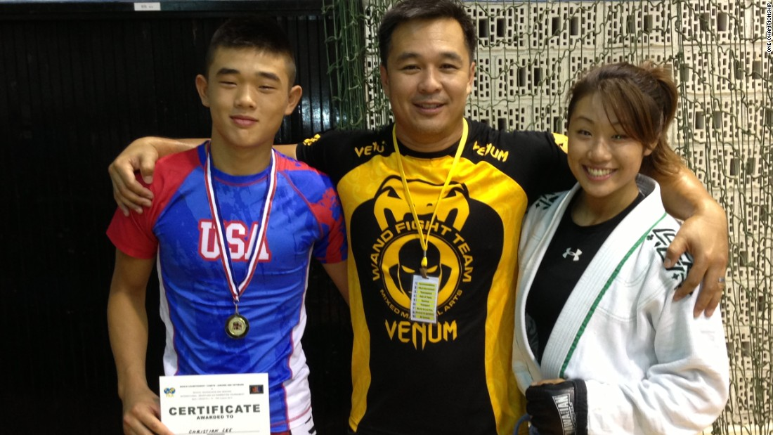 MMA is in the blood of the Lee family. Christian, who is 17, is hoping to start his professional career with victory while father Ken holds belts in a number of different disciplines.