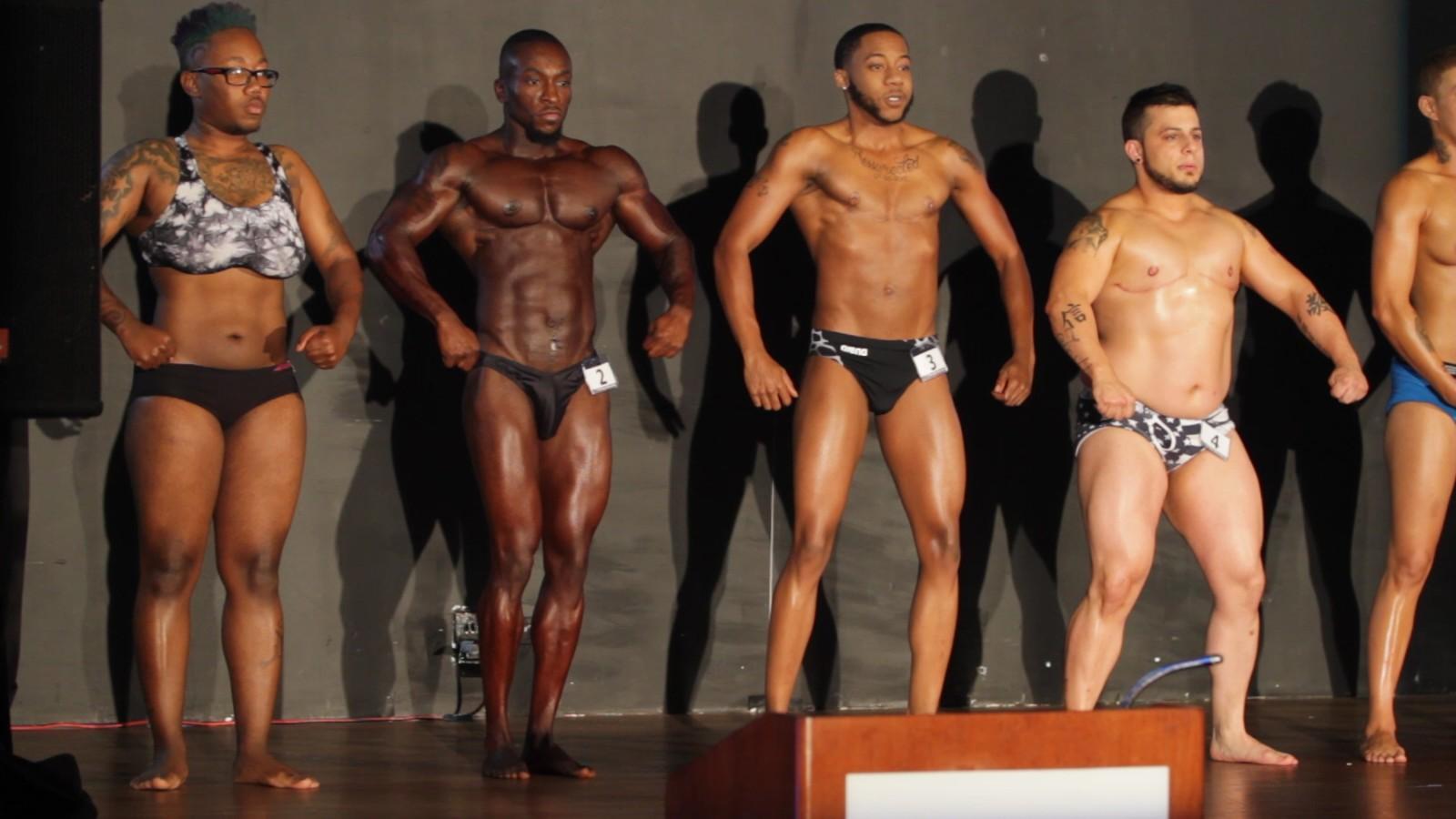 Black lesbian bodybuilder