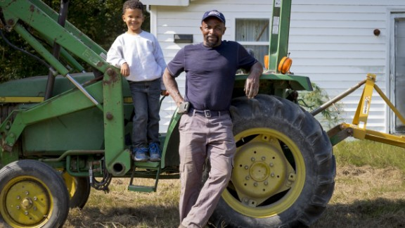 More than 80 young people help Joyner plan, plant and harvest nearly 50,000 pounds of fresh food a year.