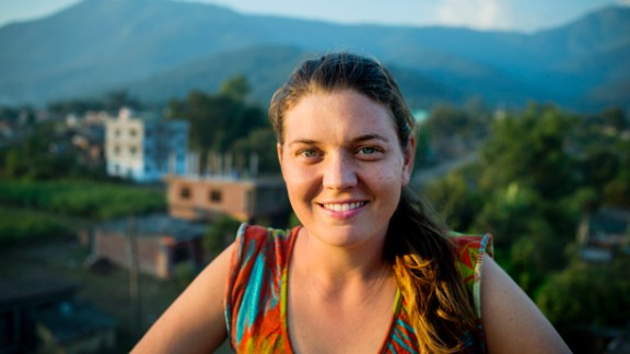 After traveling in war-torn Nepal in 2006, Maggie Doyne changed her life