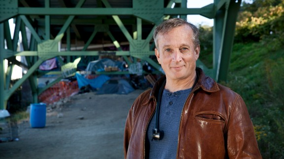 For 23 years, Dr. Jim Withers has been treating the homeless in Pittsburgh, Pennsylvania -- under bridges, in alleys and along riverbanks.