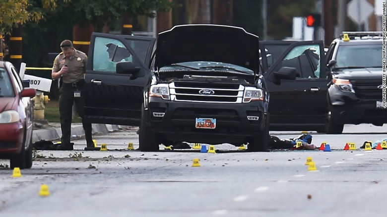 What was the motive behind the San Bernardino shooting?