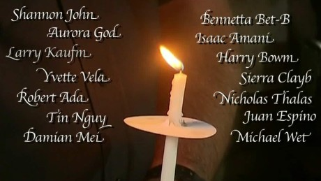 Remembering the San Bernardino victims