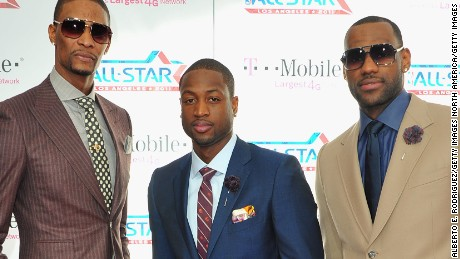 NBA fashion: Chris Bosh, LeBron James dress to impress