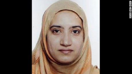 Who's the female San Bernardino killer?