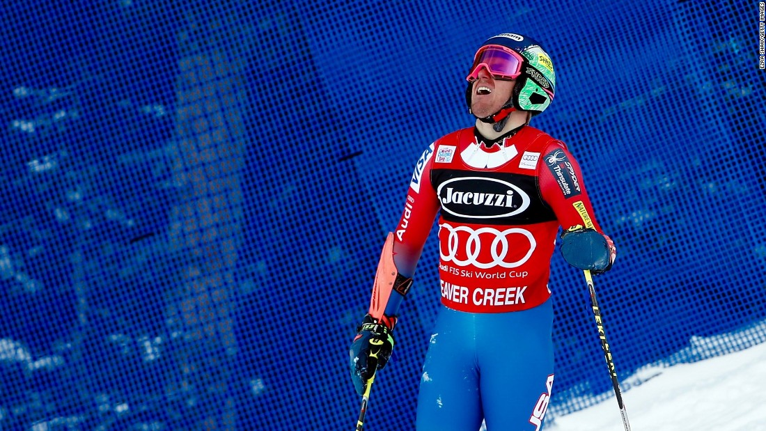 The crash, in Ligety's first run, left him unable to complete a second run and out of the picture for victory in Colorado.