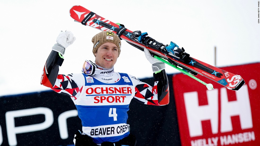 However, Hirscher is one of the most successful male alpine skiers in history -- only he has ever won four overall World Cup titles in a row -- and this weekend's results help his bid for a fifth.