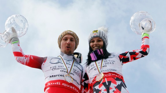 On the piste, he has been virtually unstoppable. In the 2014-15 season, Austria had double World Cup success as Anna Fenninger won the women's title.