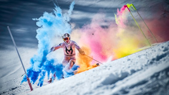 His success has warranted global attention, and he capped his 2014-15 World Cup globe with a colorful photo shoot for sponsor Red Bull in his native Austria.