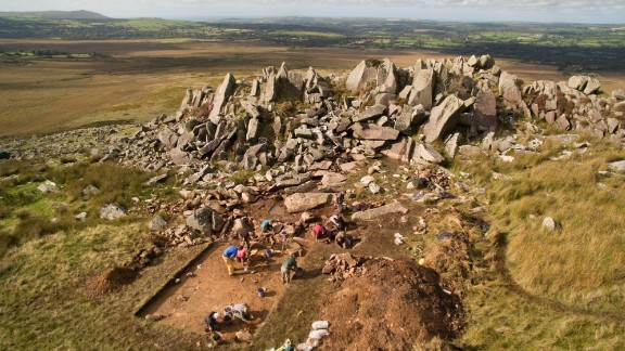 Stonehenge was built during the Neolithic period, between 4,000 to 5,000 years ago. Both of the quarries in Preseli, Pembrokeshire were exploited in the Neolithic era, and Craig Rhos-y-felin was also quarried in the Bronze Age, around 4,000 years ago.