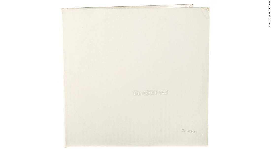 "Starr's personal copy of the 1968 album known as the ""White Album"" fetched $790,000. The album is stamped with the serial number A0000001, indicating it was the very first pressing of the disc. Julien's Auctions said the sale more than doubled the previous record vinyl sale -- an Elvis Presley disc that sold for $300,000."