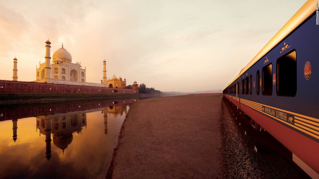 All aboard the Maharajas' Express, India's most luxurious train