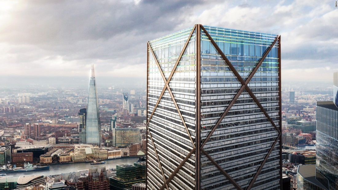 plans for city of london s tallest building revealed cnn style