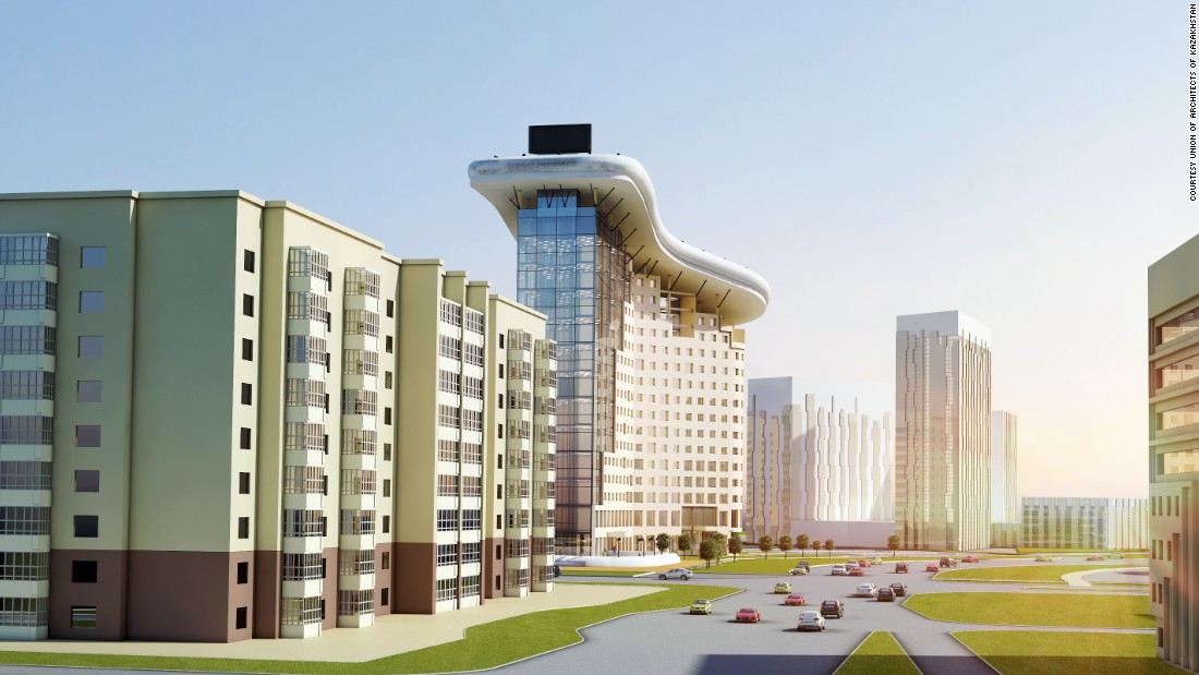 The project has been proposed by local collective, the Union of Architects of Kazakhstan, and featured at the World Architecture Festival in Singapore last month.