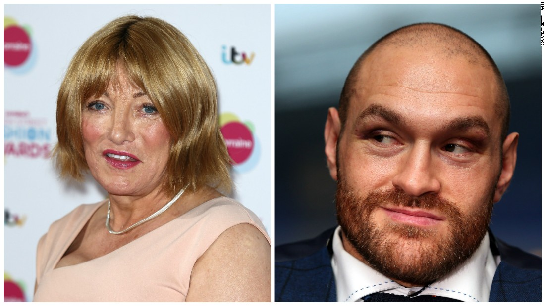 "Newly-crowned world heavyweight champion Tyson Fury has caused outrage with recent remarks he allegedly made about homosexuality and women. Boxing promoter Kellie Maloney, who was known as Frank Maloney until undergoing gender reassignment, says his comments ""crossed the line."""