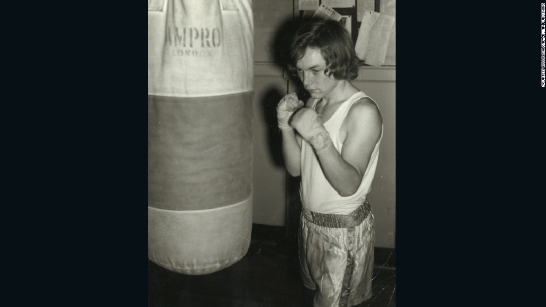 Maloney (pictured in the 1960s) was encouraged to take up boxing by her father and had dreams of turning pro. But, standing a little over five feet tall, she would instead turn her attention to the managerial side of the sport.