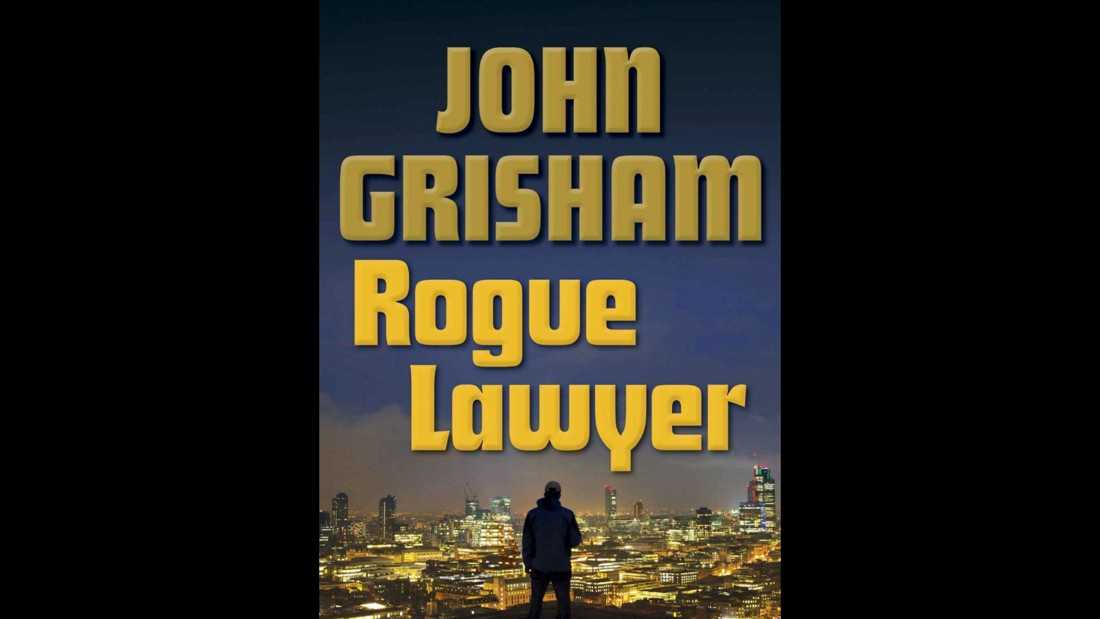 "John Grisham's latest lawyer working around the law, Sebastian Rudd, doesn't much care for working well with others in ""Rogue Lawyer,"" coming in at No. 7 on Amazon's list. Rudd defends folks no one else will touch, all from the comfort of his bulletproof van."