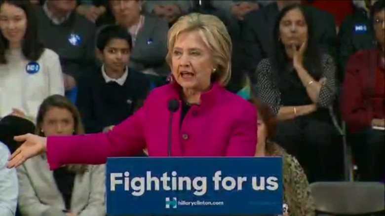 Clinton: Trump playing right into the hands of ISIS