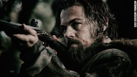 "Leonardo DiCaprio earned a BAFTA nomination for leading actor for his work in ""The Revenant."""