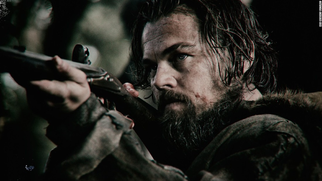 """The Revenant"" snagged Leonardo DiCaprio a nomination for outstanding performance by a male actor in a leading role in a motion picture. Bryan Cranston (""Trumbo""), Johnny Depp (""Black Mass""), Michael Fassbender (""Steve Jobs"") and Eddie Redmayne (""The Danish Girl"") were also nominated."