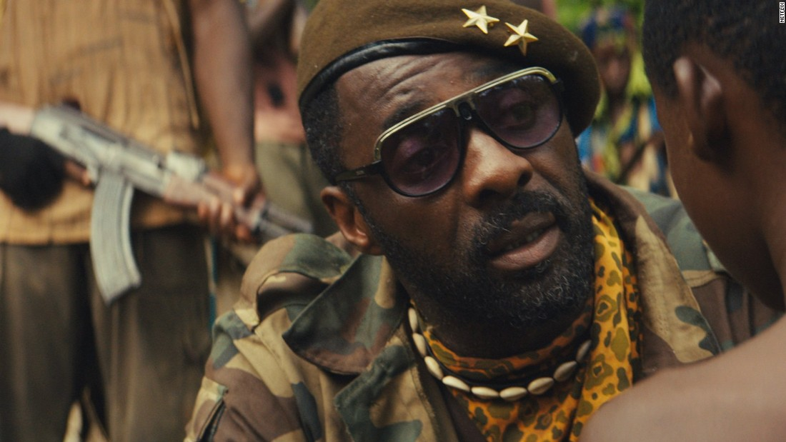 "Idris Elba is nominated for best performance by an actor in a supporting role for his role in ""Beasts of No Nation."" Paul Dano (""Love & Mercy""), Mark Rylance (""Bridge of Spies""), Michael Shannon (""99 Homes"") and Sylvester Stallone (""Creed"") are also nominated."