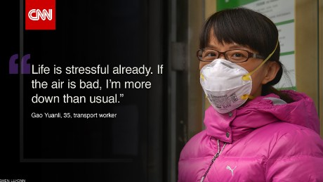 What's it like to breathe in Beijing?