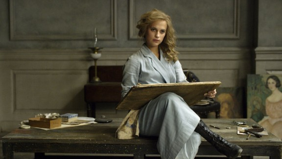 "Best supporting actress: Alicia Vikander, ""The Danish Girl"""