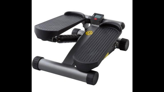 The Gold's Gym mini stepper gives you the feel of having a moderate workout, according to one user. The stair stepper is not all that different from marching in place.