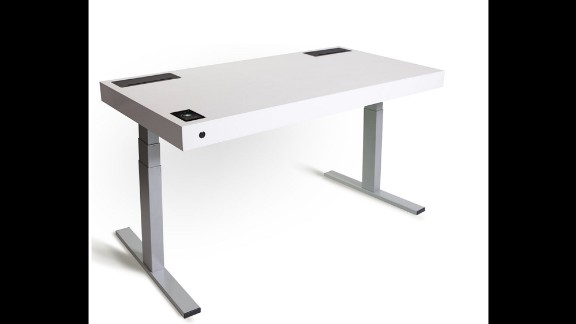 The Kinetic Desk M1 desk has sensors that detect whether you