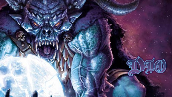 This demonic-looking mascot appears on album covers for the heavy metal band Dio, popular in the