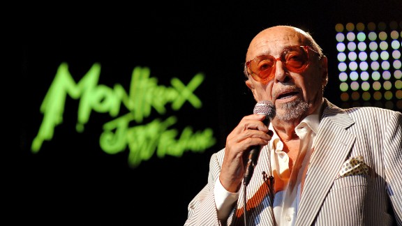 Ahmet Ertegun, the founder of Atlantic Records, signed artists from Aretha Franklin to Led Zeppelin.