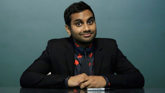 """Aziz Ansari and his immigrant father, have brought laughter to fans of the TV show """"Master of None."""""""