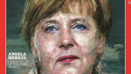 German Chancellor Angela Merkel is featured as Time's Person of the Year.