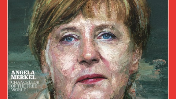 German Chancellor Angela Merkel is Time's Person of the Year.