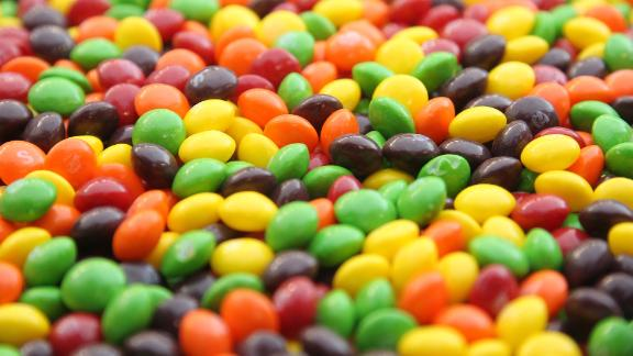 SEATTLE - DECEMBER 24:  A closeup of a bowl of Skittles which are kept on the sidelines for running back Marshawn Lynch #24 of the Seattle Seahawks during the game against the San Francisco 49ers at CenturyLink Field on December 24, 2011 in Seattle, Washington. (Photo by Otto Greule Jr/Getty Images)