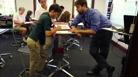 Surprising School Adds Standing Desks To Classrooms Download Free Architecture Designs Intelgarnamadebymaigaardcom