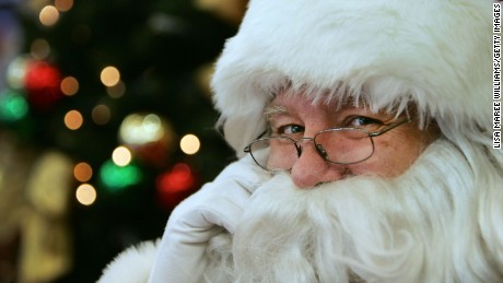 The question that almost stumped Santa Claus