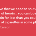 carson quote heroin gallery new hampshire