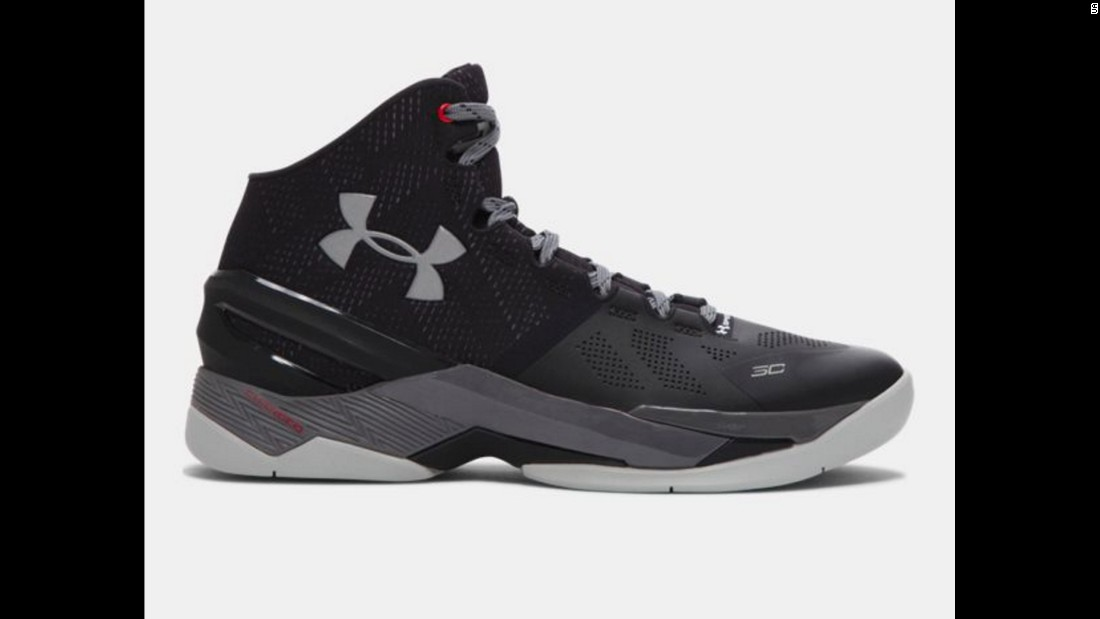 "You may not be able to shoot like Stephen Curry, the NBA's reigning MVP, but you can wear his shoes. <a href=""https://www.underarmour.com/en-us/currytwo?iid=hero"" target=""_blank"">Under Armour</a> makes them, and they come in a variety of styles and colors."