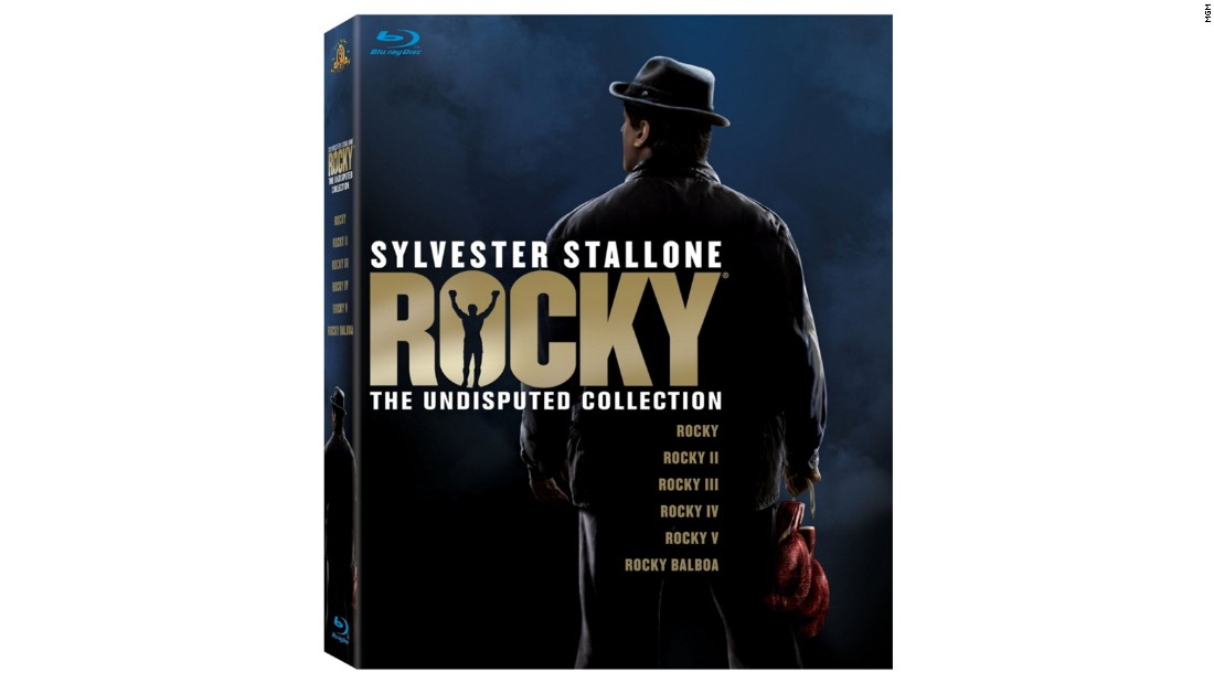 "Do you know someone who loved ""Creed"" but hasn't seen all the other movies in the ""Rocky"" franchise? Consider this <a href=""http://www.barnesandnoble.com/p/dvd-rocky-the-undisputed-collection/18102700/2686220253693?"" target=""_blank"">boxed set</a>, which collects all six movies on Blu-ray (yes, even ""Rocky V,"" sorry), plus a three-part documentary on the making of the films."