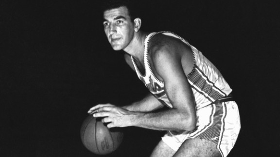 Dolph Schayes, who was one of the NBA