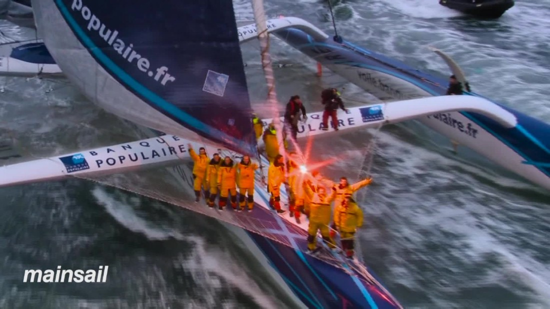"Verne's novel ""Around the World 80 Days"" has provided the inspiration for a number of sporting events.  Sailing has its own Jules Verne trophy where sailors race around the globe in the fastest possible time."
