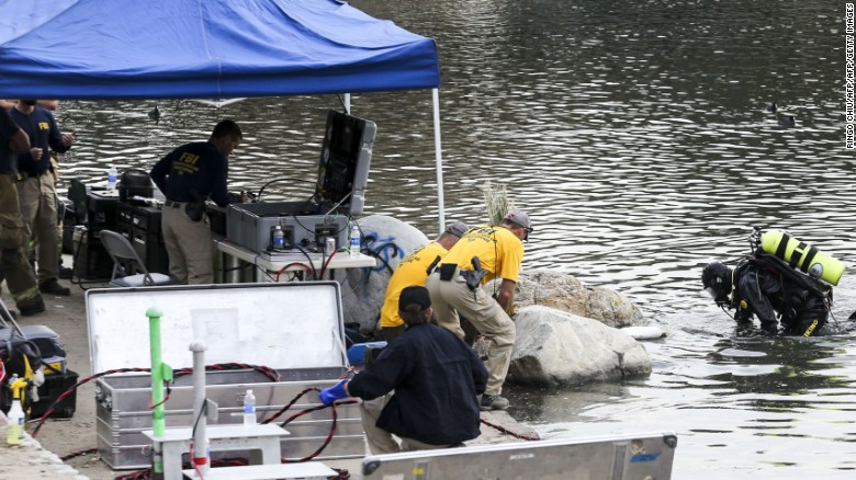 Are clues to terror attack in lake?