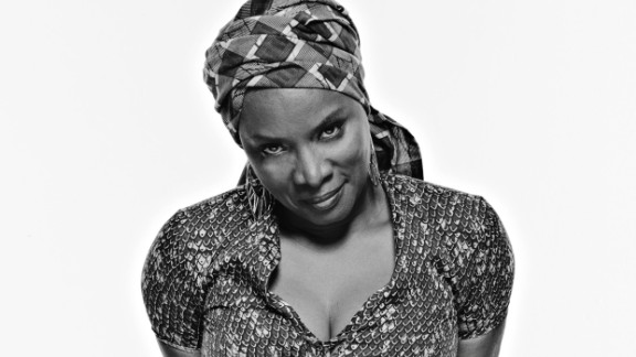 Angelique Kidjo is a Benin-born singer with two Grammy awards under her belt. She has spoken out on Ebola hysteria, AIDS, female genital mutilation and homosexuality.