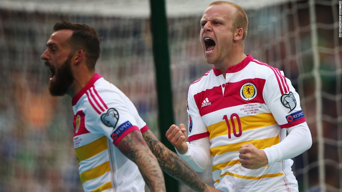 Naismith has 41 caps for Scotland after making his debut in a 2-0 win over Faroe Islands in June 2007. He and his country narrowly failed to make Euro 2016 after a improved showing in qualifying.