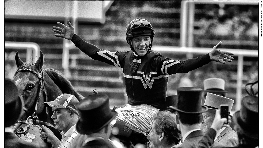 "Dettori was crowned ""World's Best Jockey"" at a ceremony in Hong Kong on December 11. His five victories, four second places and four third places earned him 100 points -- 10 more than Triple Crown winning jockey Victor Espinoza and Britain's defending champion Ryan Moore."