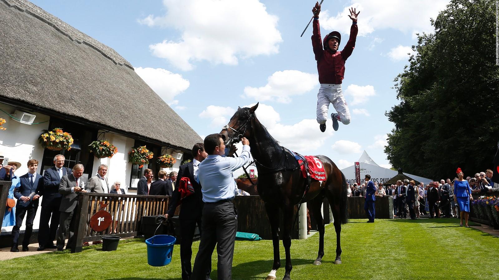 Frankie Dettori Crowned Worlds Best Jockey