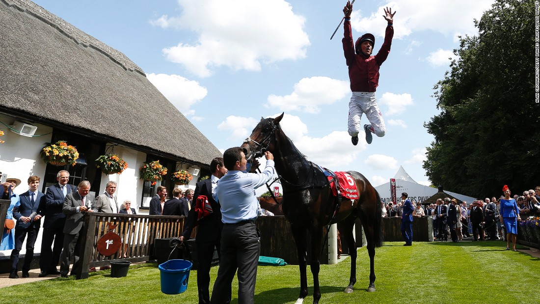 "Dettori's most-cherished achievement is winning all seven races at Ascot in September 1996. ""It's never been done before in 300 years of horse racing and it was done on a huge day,"" Dettori told CNN. For me (being a jockey) is like going on stage -- I come alive. I embrace it, it's part of my life."""