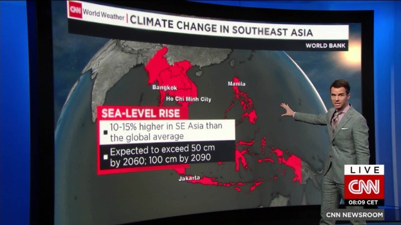 Rising sea levels a threat to coastal cities?